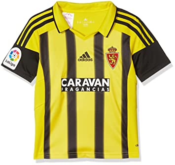 adidas Fort14 Jsy Y P Camiseta Real Zaragoza Fc, Niños, Amarillo (Amaril), 116: Amazon.es: Deportes y aire libre
