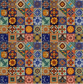 Amazoncom Hand Painted Talavera Mexican Tiles X Spanish - 4 inch mexican tile