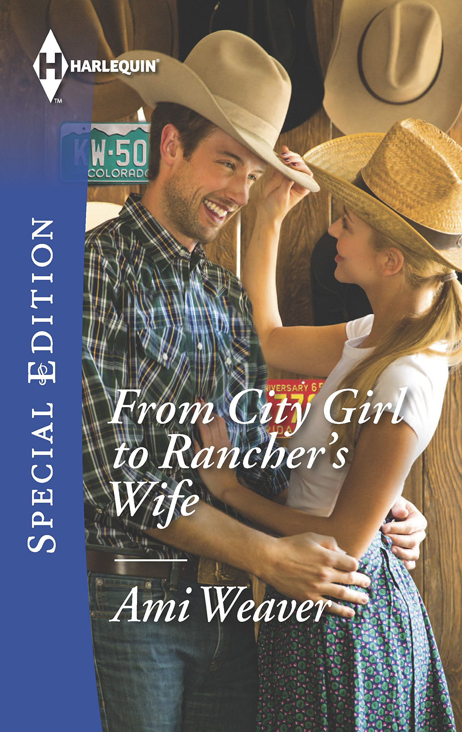 From City Girl To Ranchers Wife Harlequin Special Free Patterns My Little Citygirl Edition 9780373658756 Ami Weaver Books