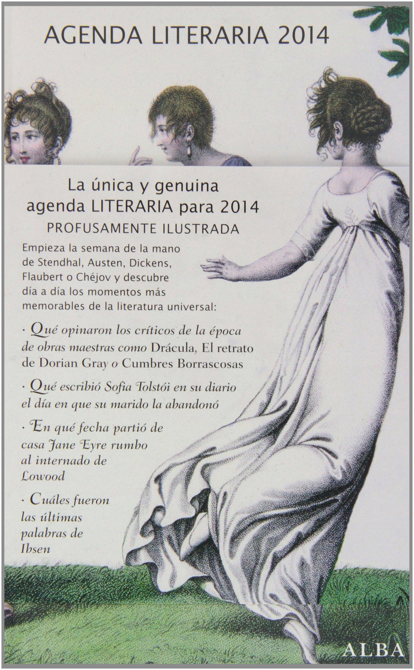 Agenda literaria 2014: ALBA EDITORIAL: 9788484289135: Amazon ...