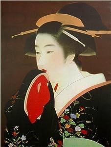 Oriental Furniture Geisha Canvas Wall Art