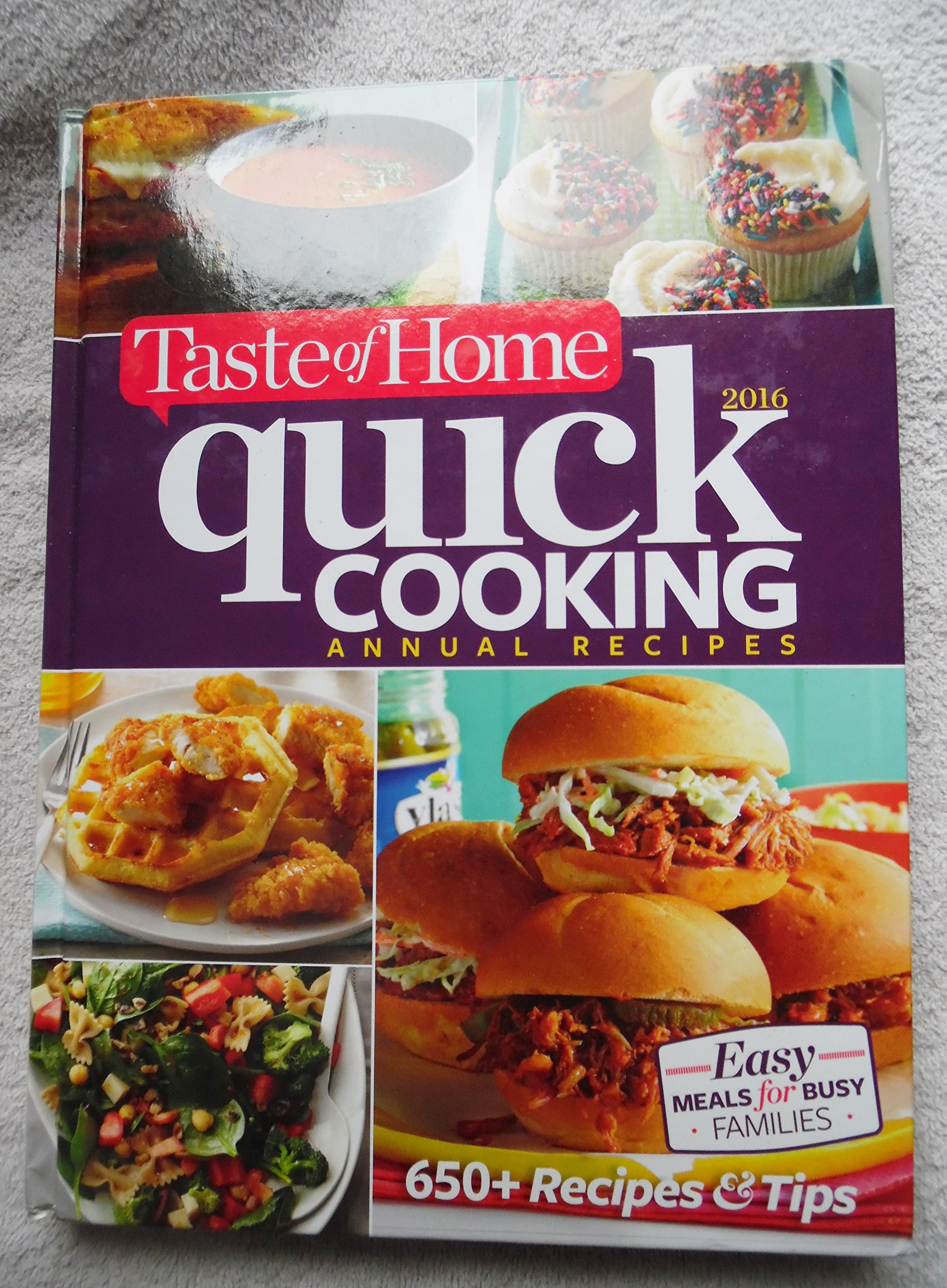 Taste of home quick cooking 2016 annual recipes 9781617655197 taste of home quick cooking 2016 annual recipes 9781617655197 amazon books forumfinder Gallery
