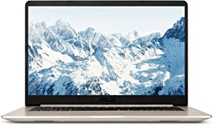 ASUS VivoBook S Ultra Thin and Portable Laptop i5-8250U 8GB DDR4 RAM, 256GB SSD, 15.6in FHD WideView ASUS NanoEdge Bezel, Metal Cover, S510UA-DS51 (Renewed)