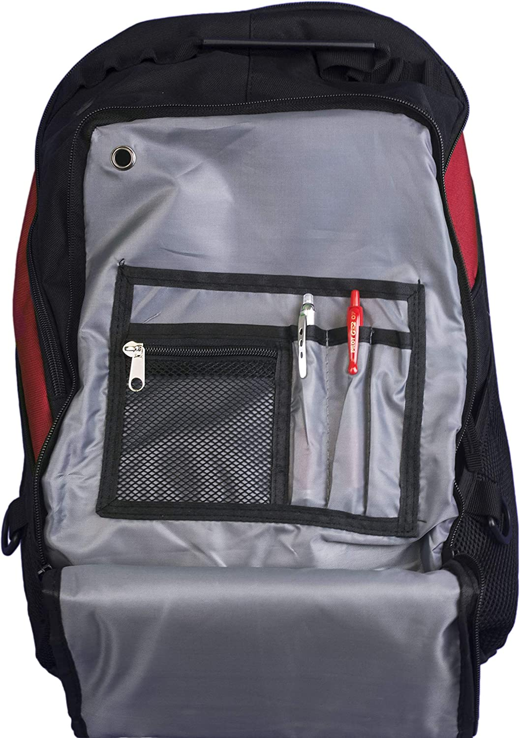Royal//Grey//Black all about me company Personalized Cross Bats Xcape Computer School Bag Backpack