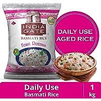 India Gate Basmati Rice Pouch, Feast Rozzana, 1 Kg