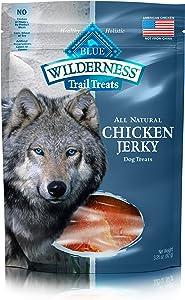 Blue Buffalo Wilderness Trail Treats Grain Free Jerky Dog Treats, Chicken 3.25-oz bag