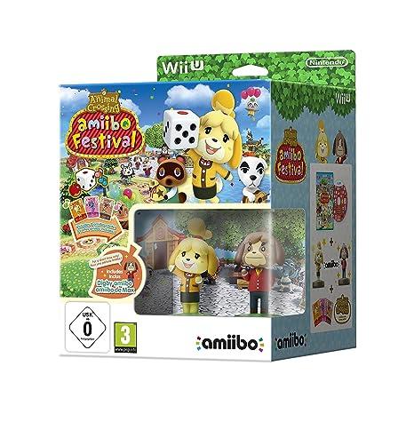 Nintendo Wii U: Animal Crossing Amiibo Festival: Fuffi E Fofo + 3 ...