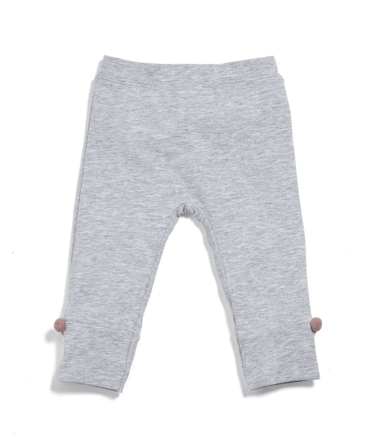 Mamas & Papas Baby Girls' Grey Leggings Pom Mamas and Papas