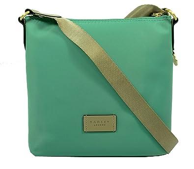 Radley Pocket Essentials Cross Body Bag Eucalyptus Green  Amazon.co.uk   Shoes   Bags 74b93aed3d3a