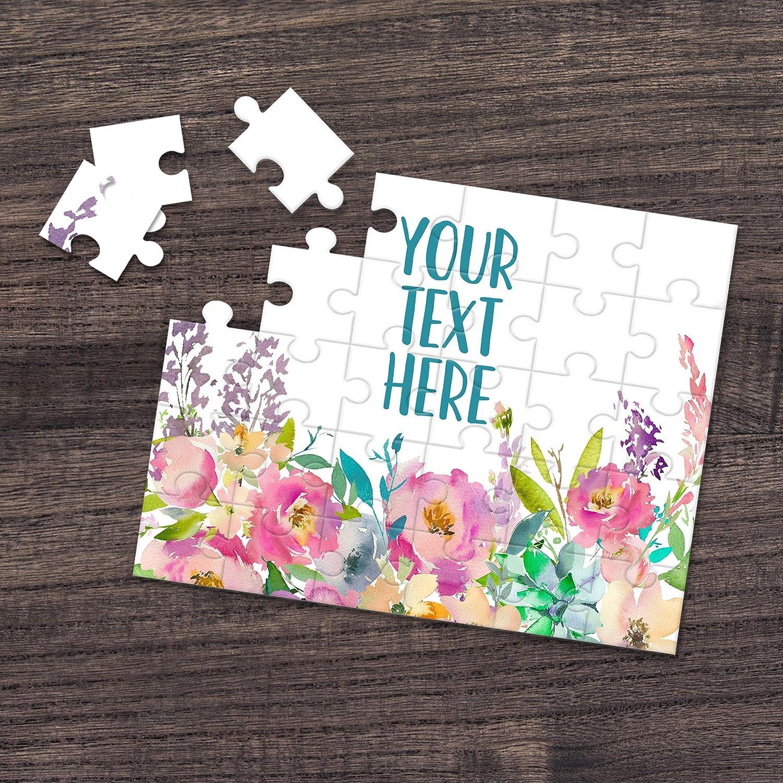 Announcement Ideas Wedding Announcement Personalized Puzzle CYOP0150 Custom Puzzle Create Your Own Puzzle Pregnancy Announcement
