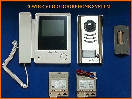 Amazon C5b 2 Wire 1 Way Sleek Door Video Intercom Entry