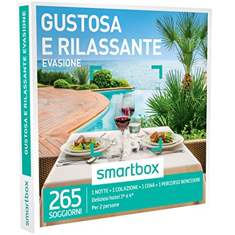 SMARTBOX - Cofanetto Regalo - GUSTOSA E RILASSANTE EVASIONE - 265 ...