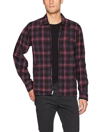 Obey Mens Station Shirt Jacket