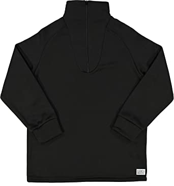 Amazon.com  Men s Cold Weather Fleece-Lined Zip UP Thermal ECWCS Undershirt  Top with Pin  Clothing 446f8069db3