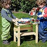 Gartenpirat Spieltisch Kindertisch aus Holz massiv innen außen Garten