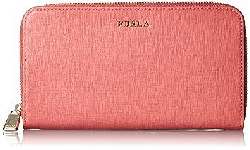 schnelle Farbe gut attraktive Designs Furla Geldbörse Babylon XL Zip around Saffiano koralle 19cm ...