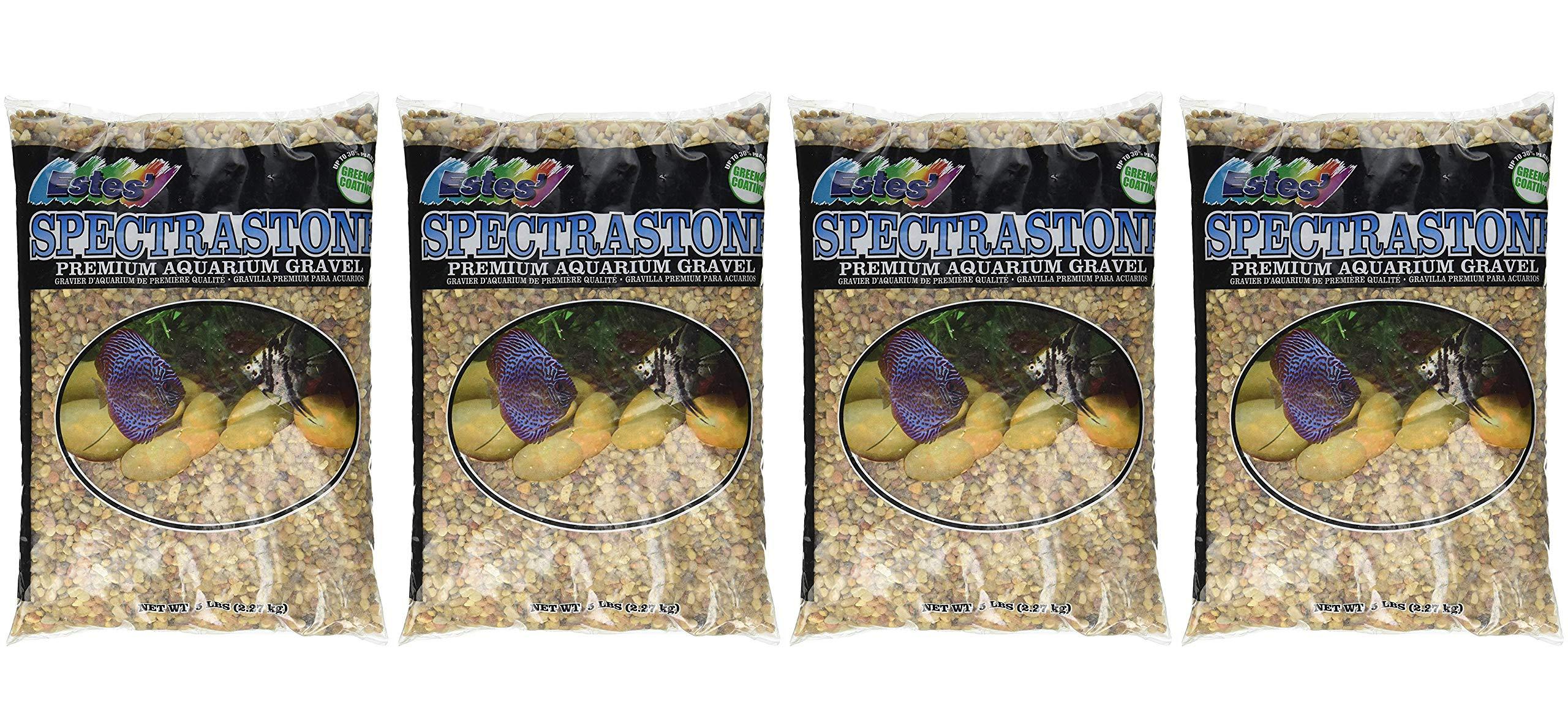 Spectrastone Shallow Creek Regular for Freshwater Aquariums, 5-Pound Bag (Fоur Paсk) by Spectrastone