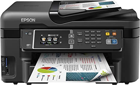 Epson Workforce WF-3620DWF - Impresora multifunción de Tinta (WiFi ...