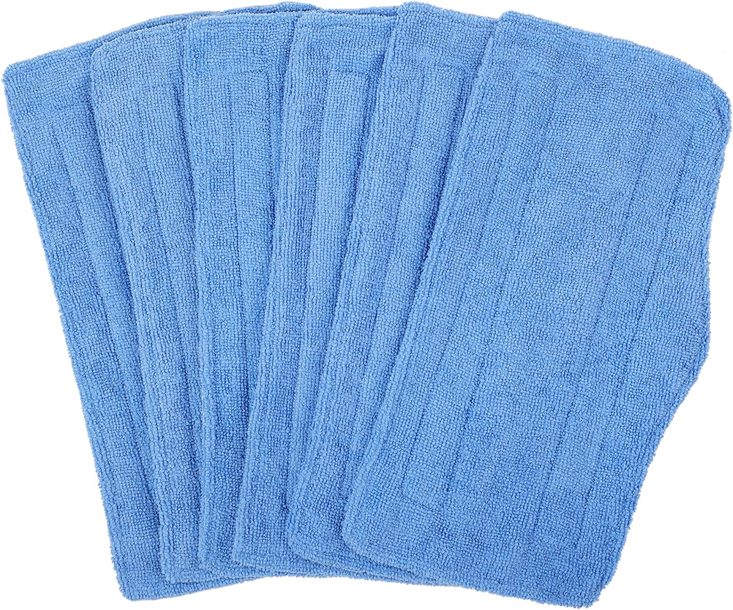 HomeDay Washable Mop Replacement Pads for Shark Vacuum Steam SK410, SK435CO, SK460, SK140, SK141, S3101, S3250, S3251 (Pack of 6)