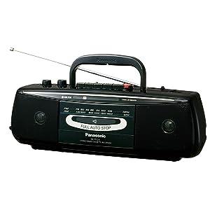 パナソニック ラジオカセット RX-FS22A-K