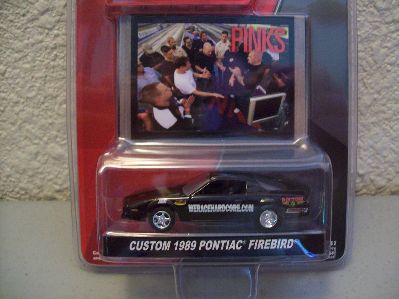 1989 PONTIAC FIREBIRD 1:64 Greenlight Speed black//graphics