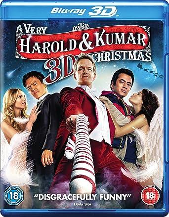 A Very Harold And Kumar Christmas.A Very Harold Kumar 3d Christmas Blu Ray 3d Blu Ray Uv