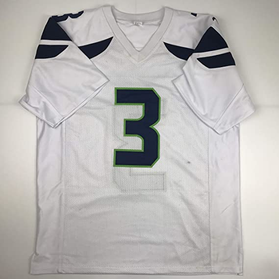 32dbea0170b31 Amazon.com: Unsigned Russell Wilson Seattle White Custom Stitched ...