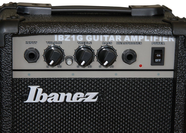 Ibanez grx70dxju de CA Gio Jump Start Guitarra eléctrica Set ...