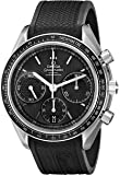 Omega Men's 32632405001001 Speed Master Analog Display Automatic Self Wind Silver Watch