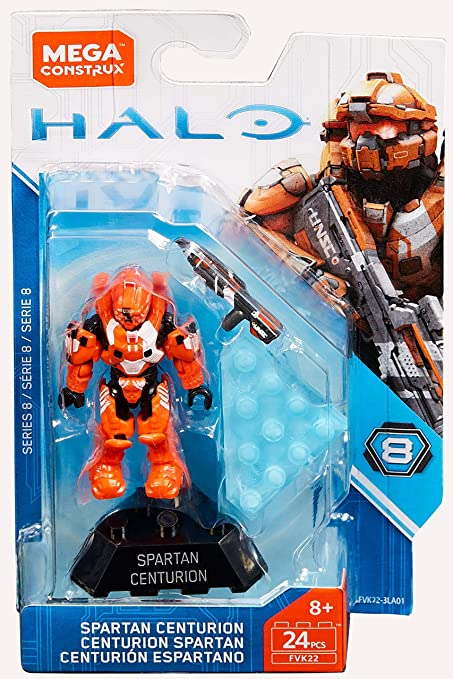 Mega Construx Halo series 12 New in stock Spartan Gungnir
