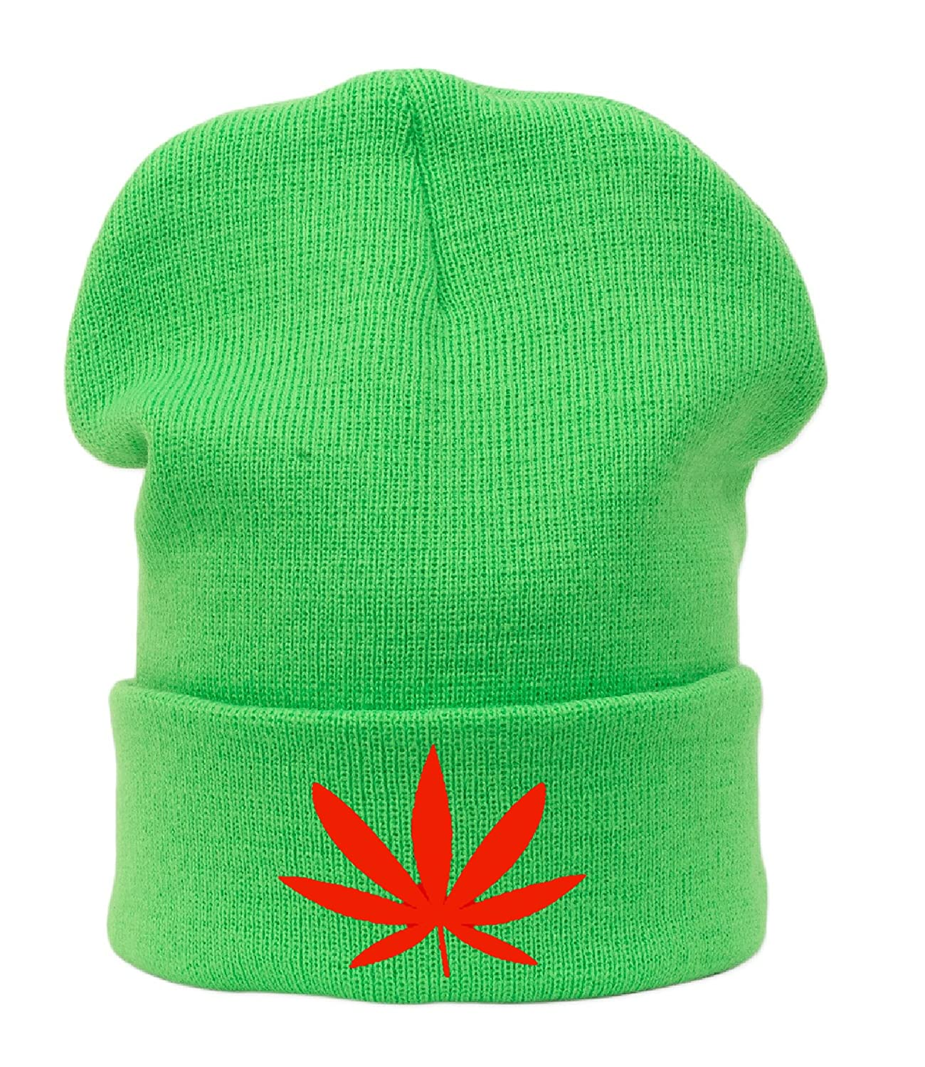 Winter Wool Beanie Mütze hat Herren Damen GANJA 420 WEED Fashion Ski Snowboard Swag Diamond HAT HATS Morefazltd (TM)