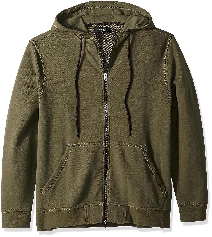 fce77cf23 Green M Hudson Men's Hooded Up Sweatshirt Zip Fatigue nsyhbl4350-Hoodies