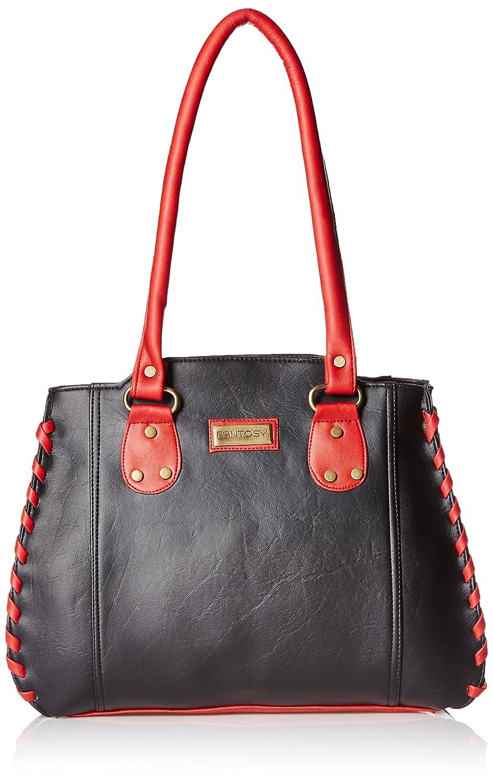 Fantosy Women s Handbag (Black and Red) (FNB-285)  Amazon.in  Shoes    Handbags 738e16948c