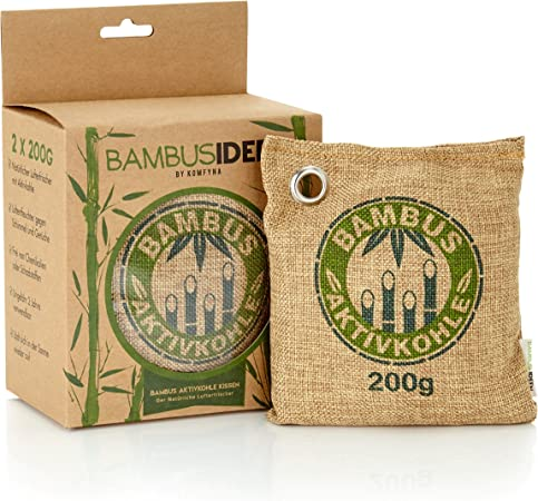 Ambientador De Aire Natural bolsas con bambú carbón activado ...
