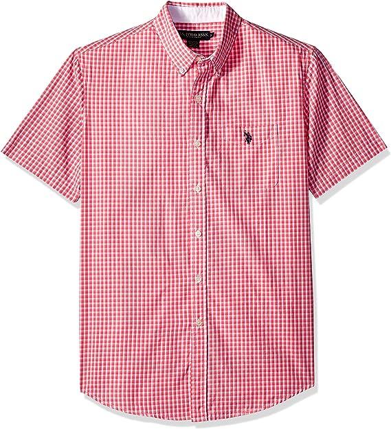 U.S. Polo Assn. Camisa de Manga Corta para Hombre, diseño de ...