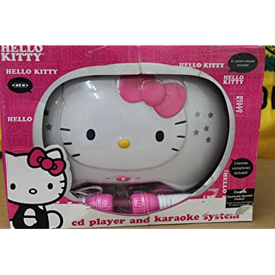 JENKT2003CA - HELLO KITTY KT2003CA Karaoke System with CD Player: Musical Instruments