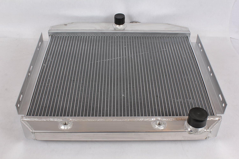 Opl Hpr582 Aluminum Radiator For Chevrolet Bel Air 6 1966 Cylinder Automotive