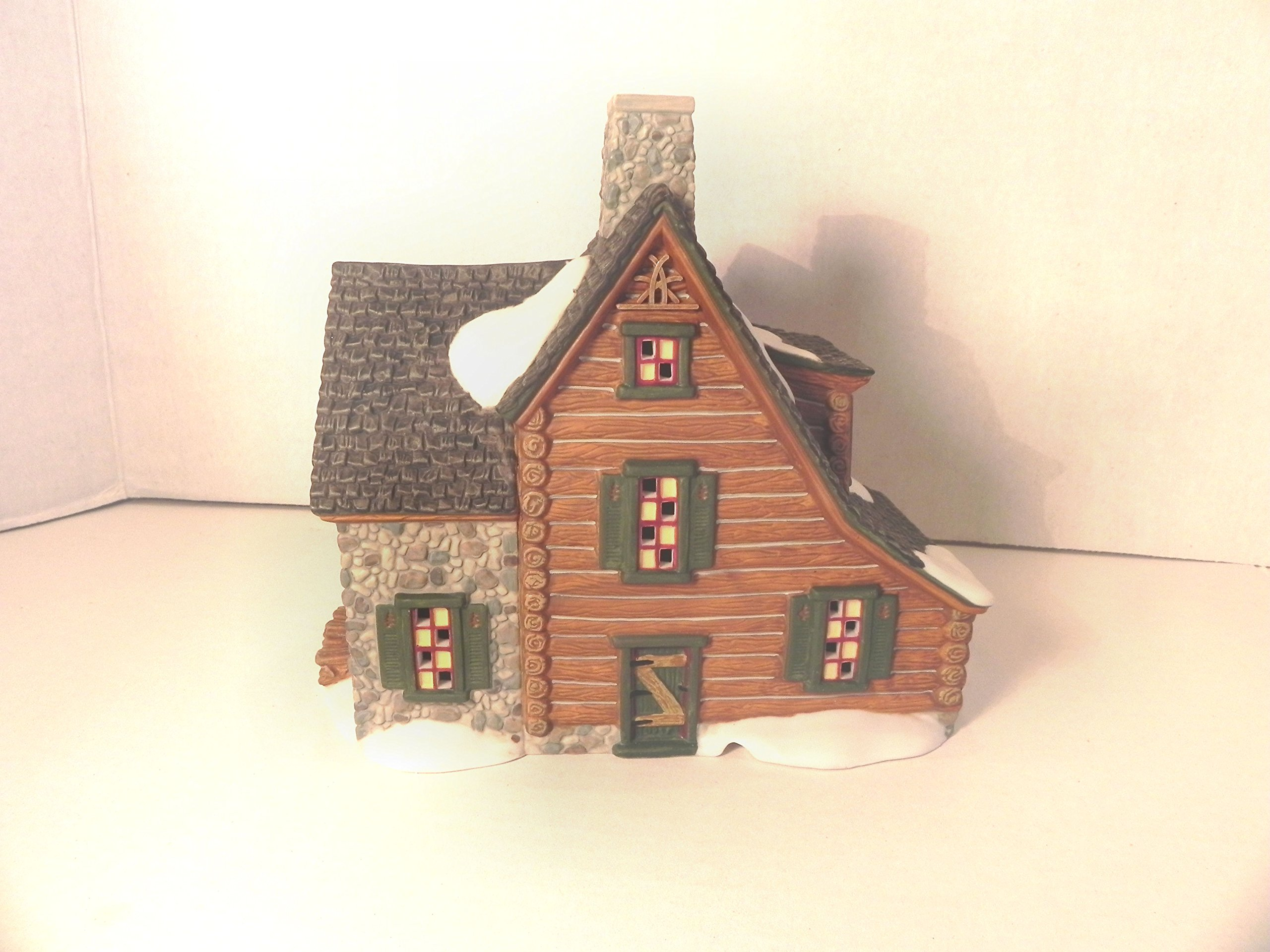 Dept 56 New England Village Series Mountain View Cabin #56.56625