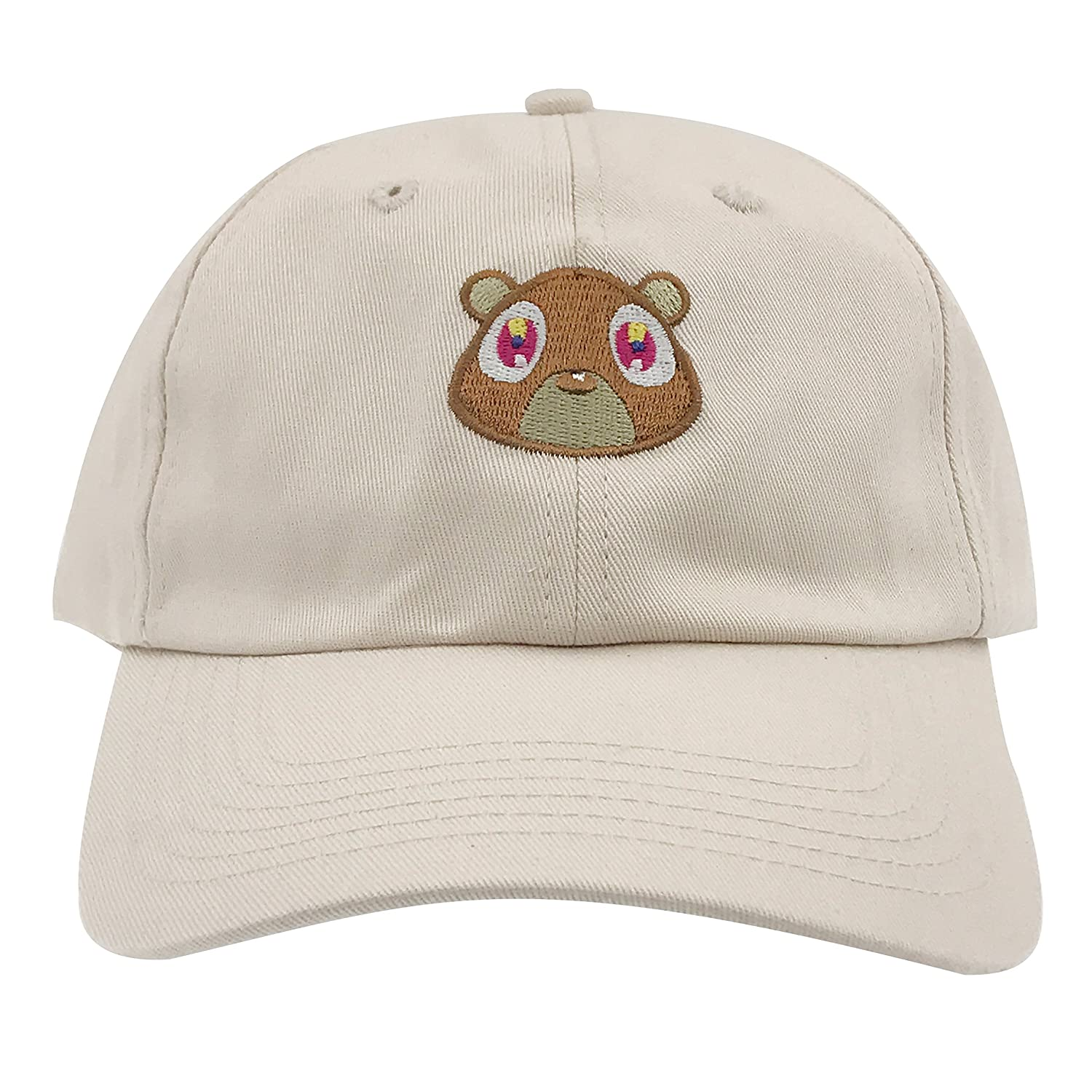 Generic Kanye West Bear Hat Dad Hat Strap Back Costume Head Men Women New  (Tan) at Amazon Men s Clothing store  8a1708ad626