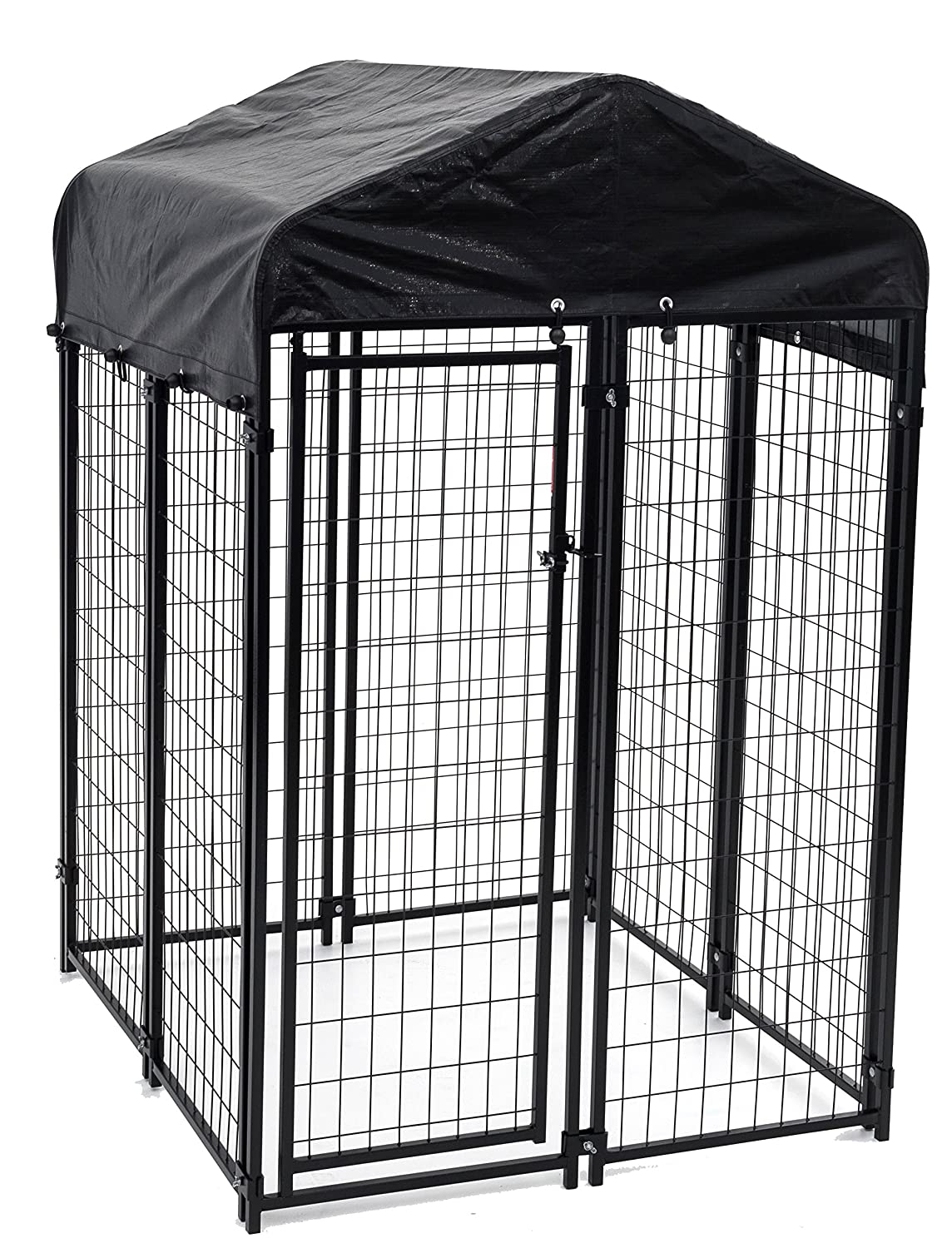Heavy Duty Dog Cage Lucky Outdoor Pet Playpen Jewett Wiring Diagram This Is Perfect For Containing Small Dogs And Animals