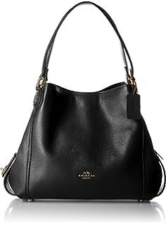 fe4429d825a5 Amazon.com  COACH Edie Ladies Medium Pebbled Leather Ladies Shoulder ...