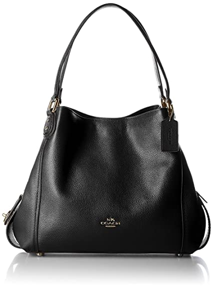 904d48166e COACH Edie Shoulder Bag 31 in Polished Pebble Leather  Amazon.co.uk   Clothing