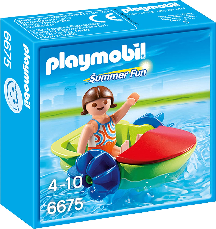 2 Pezzi Gommone con Esploratori Playmobil 5559