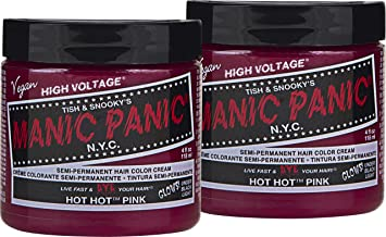 Manic Panic Hot Hot Pink Hair Dye Color 2 Pack Buy Online At