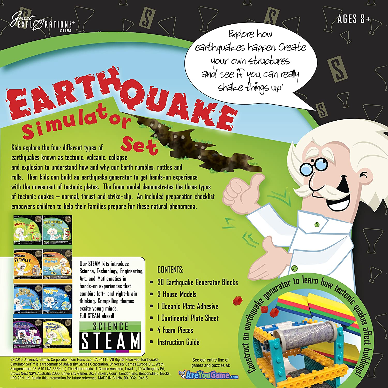 Amazon Great Explorations Earthquake Simulator Set Toys & Games