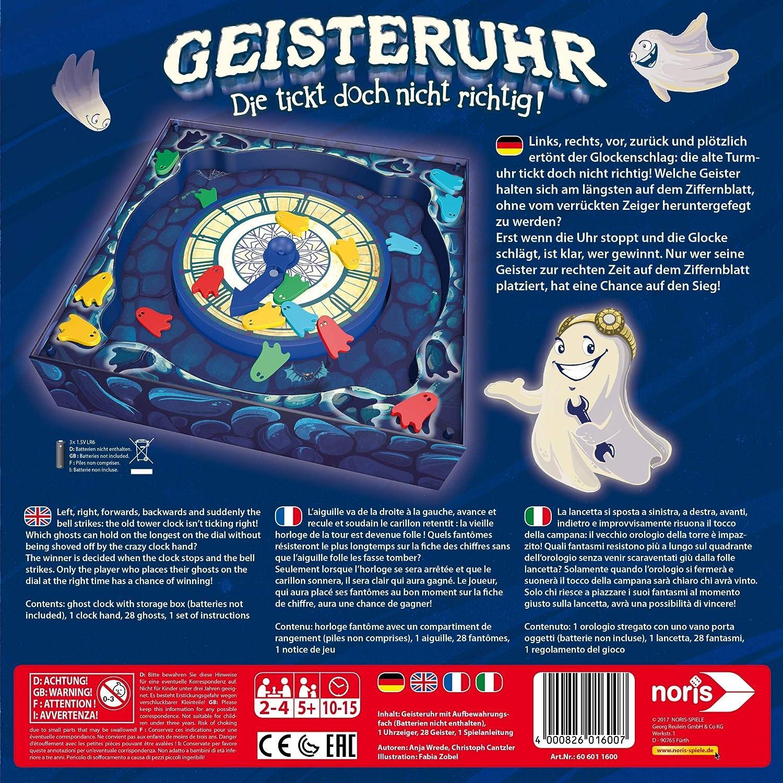 Noris Spiele 606011600 Geisteruhr Kinderspiel: Amazon.de: Spielzeug
