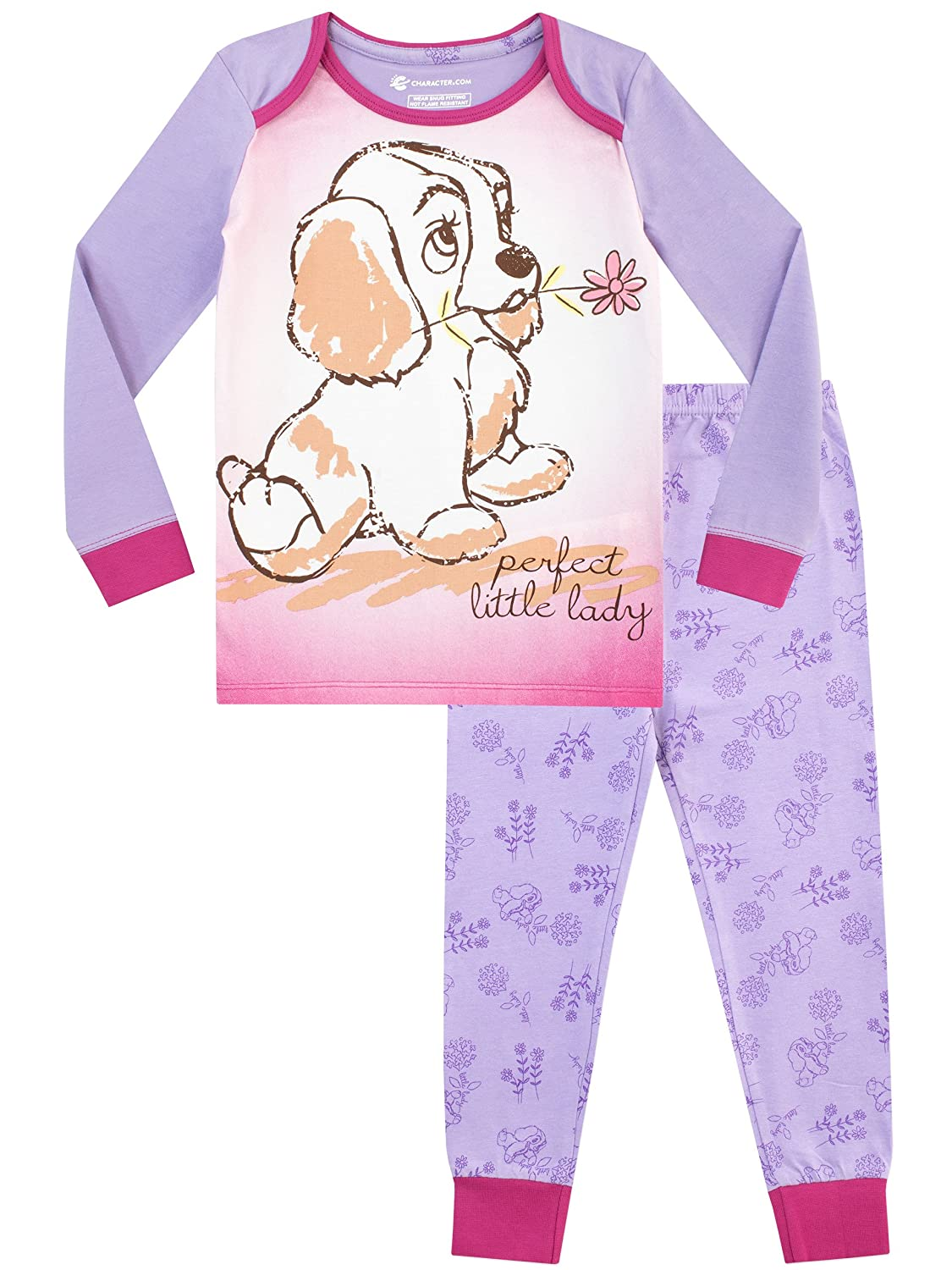 Disney Girls' Lady and The Tramp Pajamas