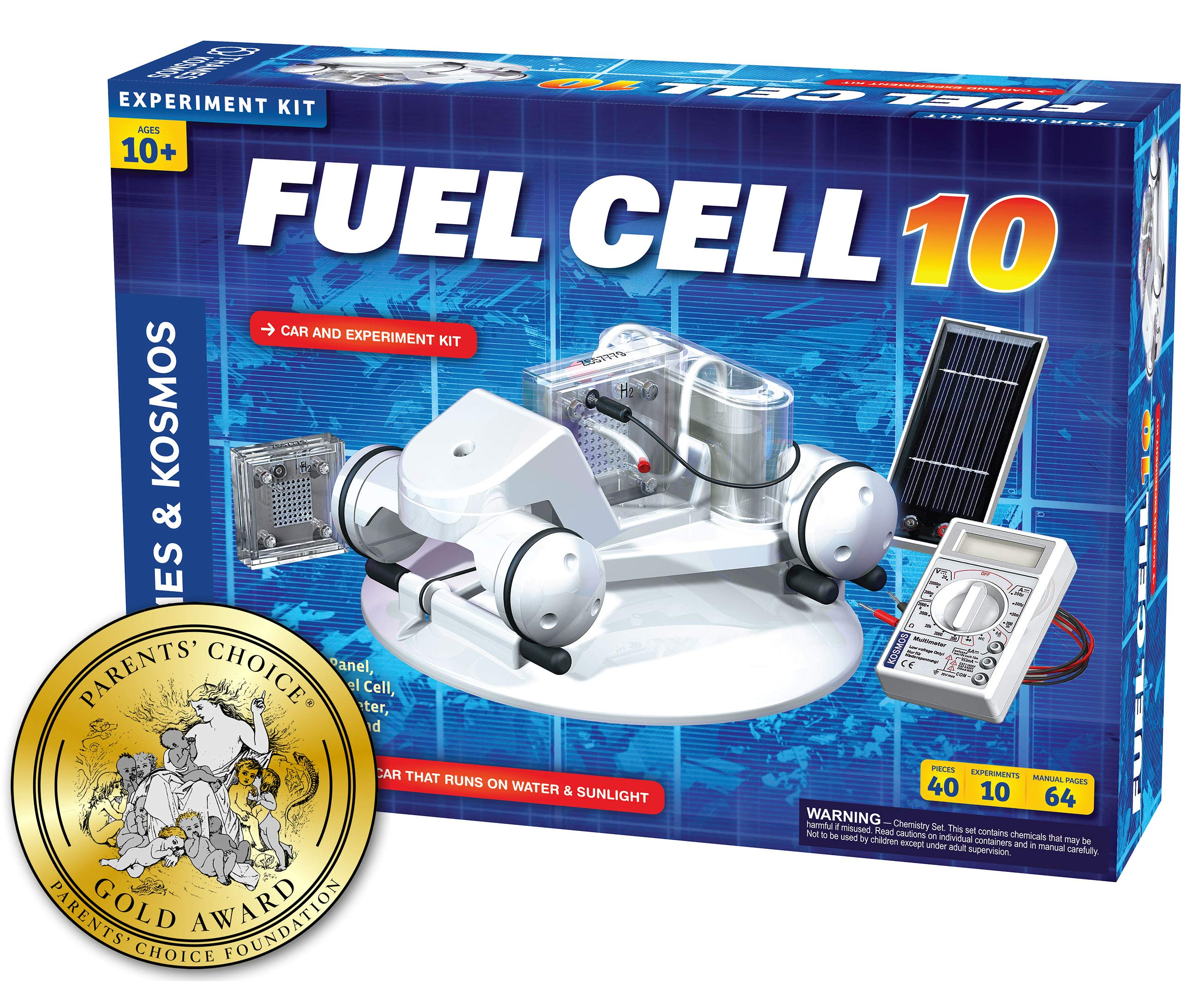 Thames & Kosmos Alternative Energy and Environmental Science Fuel Cell 10 by Thames & Kosmos