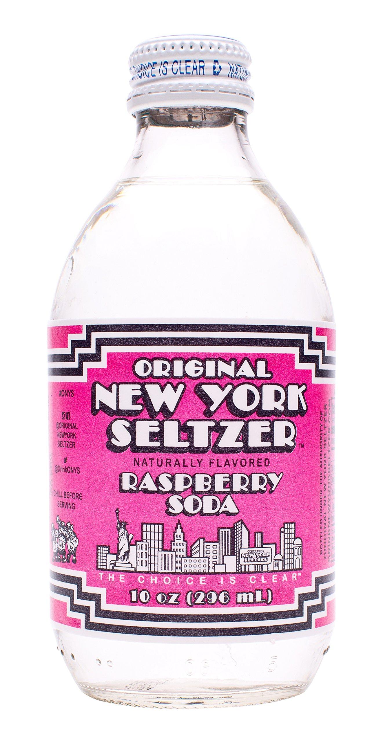 Original New York Seltzer Raspberry, 10 Fluid Ounce (Pack of 12) by Original New York Seltzer