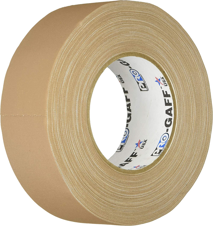 "Pro Gaff White Gaffers Tape 2/"" x 55 yard Roll"